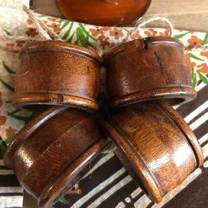 Other - Wooden napkin rings